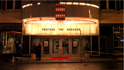 restore the norshor entrance