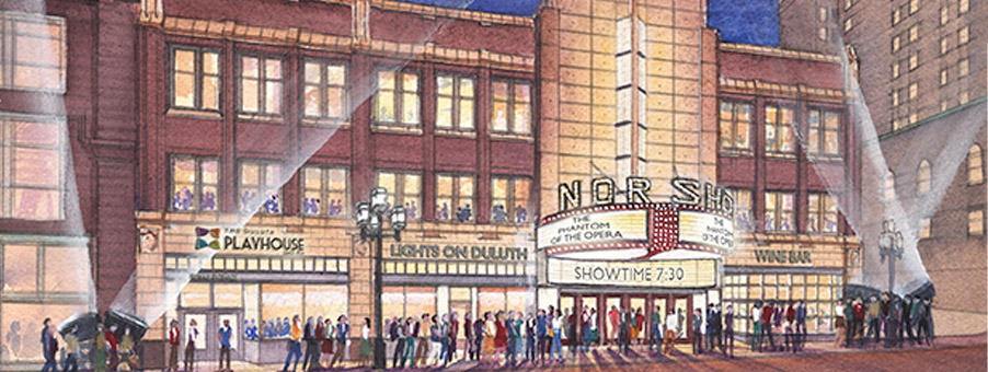 NorShor Theatre Duluth Plans