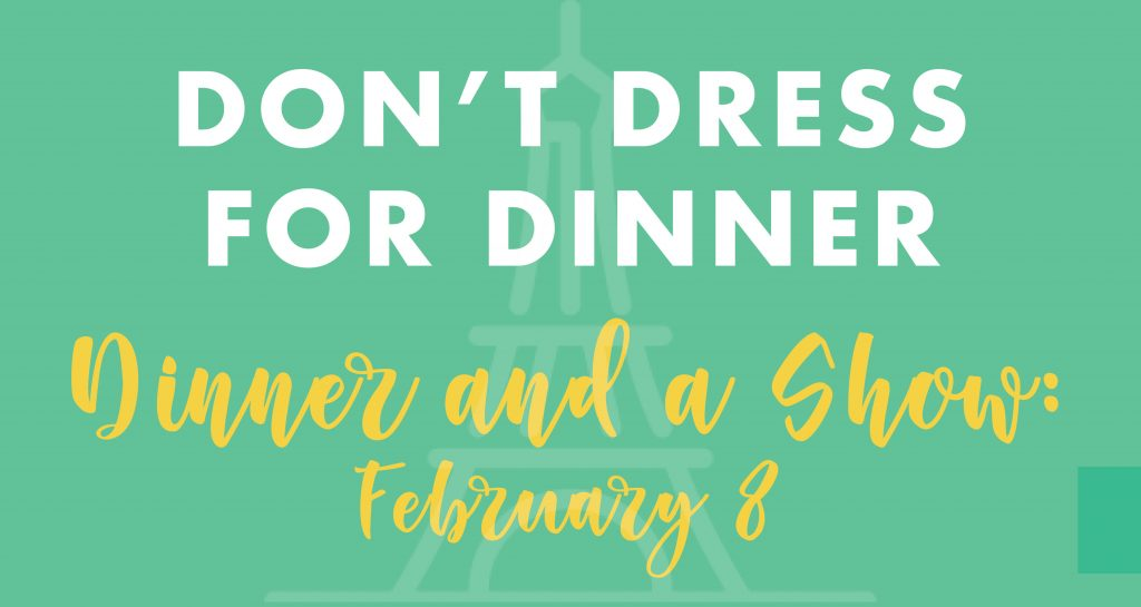 Dont dress for dinner banner